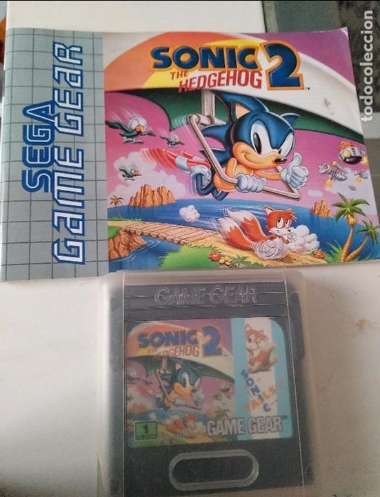 JUEGO SEGA GAME GEAR THE HEDGEHOG SONIC 2 (Juguetes - Videojuegos y Consolas - Sega - GameGear)
