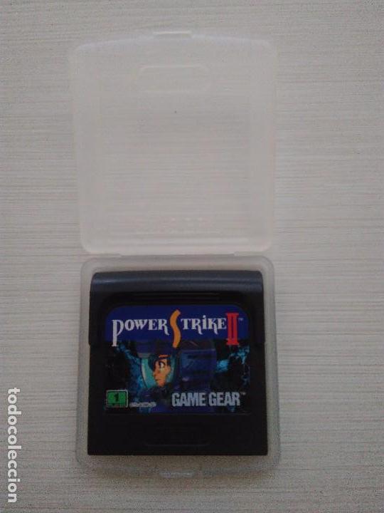 JUEGO POWER STRIKE II (Juguetes - Videojuegos y Consolas - Sega - GameGear)