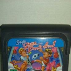 Videojuegos y Consolas: JUEGO GAME GEAR SEGA GAME PACK 4 IN 1. Lote 96975872