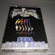Videojuegos y Consolas: MIGHTY MORPHIN ( POWER RANGERS) SEGA EUROPE -GAME GEAR 671682150/1995 NEW/OLD STOCK. Lote 98206151
