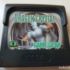 Videojuegos y Consolas: DRAGON CRYSTAL GAME GEAR (CARTUCHO). Lote 100744771