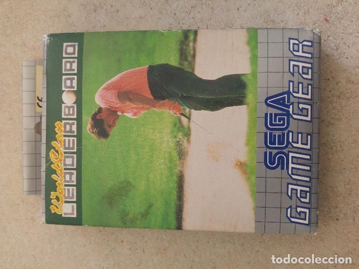 Videojuegos y Consolas: WORLD CLASS LEADER BOARD SEGA GAME GEAR COMPLETO PAL-EUROPE - Foto 2 - 102005283