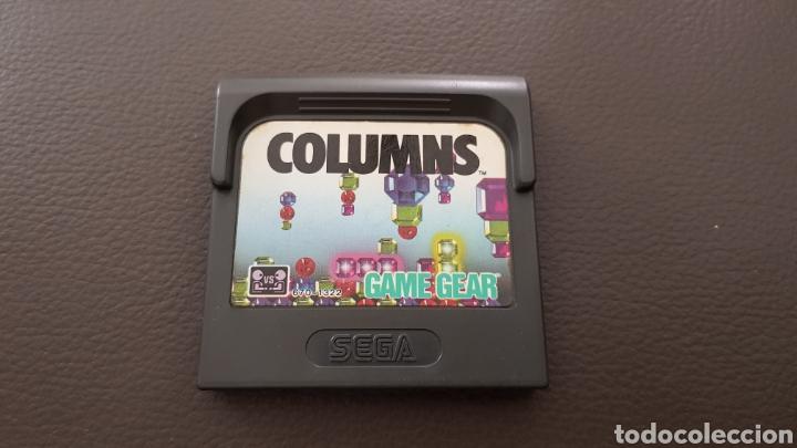 SEGA GAMEGEAR COLUMNS JUEGO (Juguetes - Videojuegos y Consolas - Sega - GameGear)