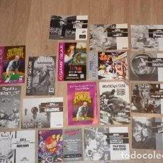 Videojuegos y Consolas: SEGA GAMEGEAR COLECCIÓN DE MANUALES. Lote 103594911