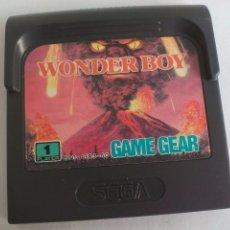 Videojuegos y Consolas: JUEGO PARA LA CONSOLA SEGA GAMEGEAR. WONDER BOY. GAME GEAR. Lote 104236515