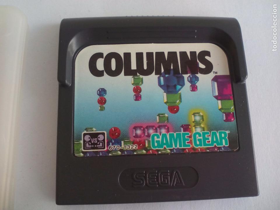JUEGO PARA LA CONSOLA SEGA GAMEGEAR. COLUMNS. GAME GEAR (Juguetes - Videojuegos y Consolas - Sega - GameGear)