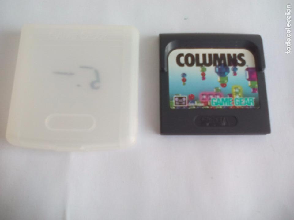 Videojuegos y Consolas: Juego para la consola Sega GameGear. Columns. Game Gear - Foto 2 - 104236763
