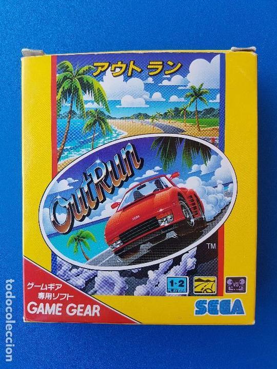 OUTRUN VERSIÓN JAPONESA (JUEGO GAME GEAR DE SEGA GG) - CAJA ORIGINAL- COMPLETO - OUT RUN JAPÓN (Juguetes - Videojuegos y Consolas - Sega - GameGear)