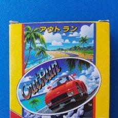 Videojuegos y Consolas: OUTRUN VERSIÓN JAPONESA (JUEGO GAME GEAR DE SEGA GG) - CAJA ORIGINAL- COMPLETO - OUT RUN JAPÓN. Lote 105665839