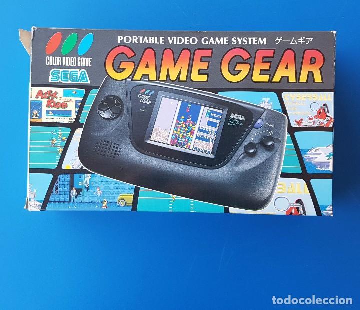 SEGA - CONSOLA PORTÁTIL GAME GEAR (HGG-3210) GG - VERSIÓN JAPONESA - CAJA Y CONTENIDO ORIGINAL (Juguetes - Videojuegos y Consolas - Sega - GameGear)