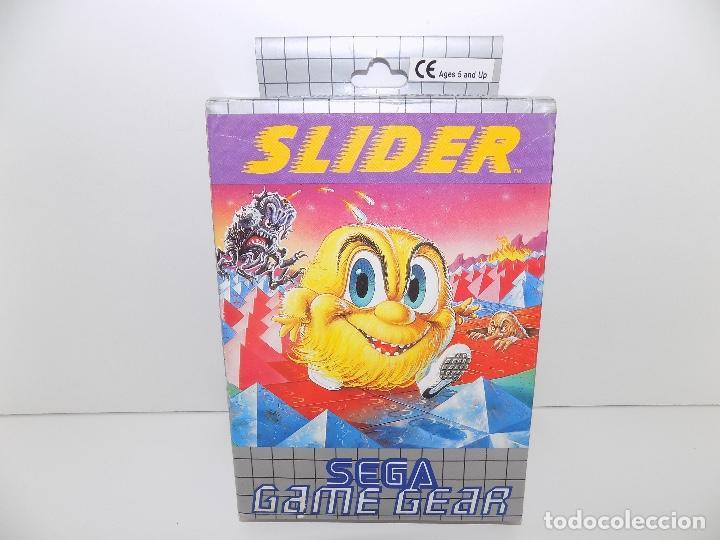 JUEGO SEGA GAME GEAR: SLIDER. NUEVO, A ESTRENAR (Juguetes - Videojuegos y Consolas - Sega - GameGear)