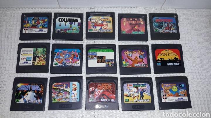 LOTE JUEGOS GAME GEAR SEGA (Juguetes - Videojuegos y Consolas - Sega - GameGear)
