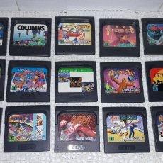 Videojuegos y Consolas: LOTE JUEGOS GAME GEAR. Lote 110660918