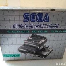 Videojuegos y Consolas: SEGA SUPER WIDE GEAR NEW OFFICIAL GAME GEAR NUEVO A ESTRENAR. Lote 119991172