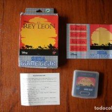 Videojuegos y Consolas: JUEGO GAME GEAR REY LEON. Lote 111261955