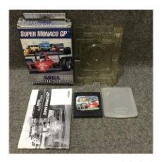 Videojuegos y Consolas: SUPER MONACO GP·GAME GEAR. Lote 111495615