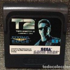 Videojuegos y Consolas: T2 TERMINATOR 2 JUDGMENT DAY·GAME GEAR. Lote 111495799