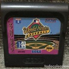 Videojuegos y Consolas: WORLD SERIES BASEBALL·GAME GEAR. Lote 111496235