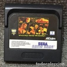 Videojuegos y Consolas: WWF RAW·GAME GEAR. Lote 111496291