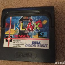 Videojuegos y Consolas: KLAX PARA LA CONSOLA SEGA GAME GEAR GAMEGEAR GG . Lote 112603447
