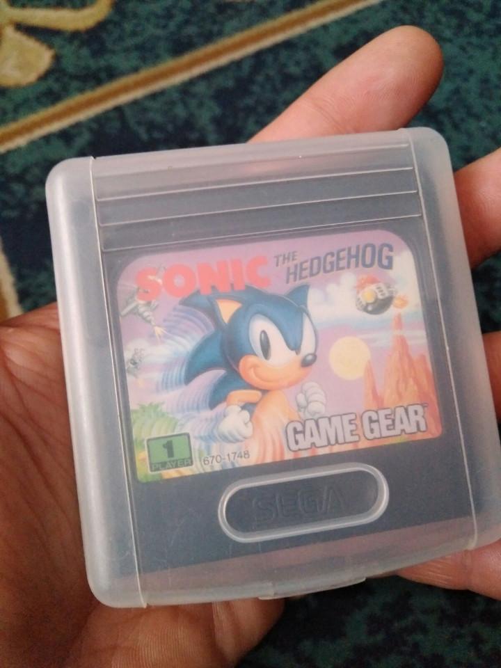 Videojuegos y Consolas: juego game gear sonic hedgehog - Foto 2 - 112770287