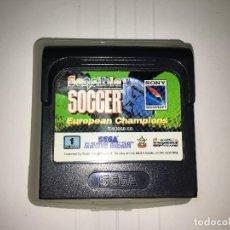 Videojuegos y Consolas: JUEGO SENSIBLE SOCCER EUROPEAN CHAMPIONS DE GAMEGEAR GAME GEAR. Lote 114732307