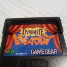 Videojuegos y Consolas: DINAMITE HEADDY GAME GEAR. Lote 115407111