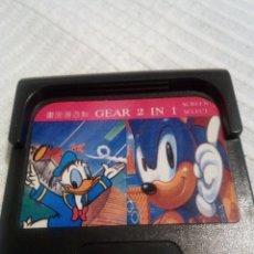 Videojuegos y Consolas: 2 EN 1 SONIC Y DONALD GAME GEAR. Lote 115407511