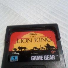 Videojuegos y Consolas: REY LEON LION KING GAME GEAR. Lote 115407615