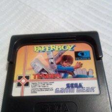 Videojuegos y Consolas: PAPERBOY GAME GEAR. Lote 115408131
