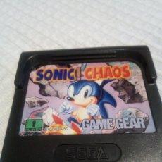 Videojuegos y Consolas: SONIC CHAOS GAME GEAR. Lote 115408463