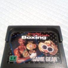 Videojuegos y Consolas: EVANDER HOLYFIELDS BOXING GAME GEAR. Lote 115411491