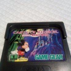 Videojuegos y Consolas: MICKEY MOUSE CASTLE OF ILLUSION GAME GEAR. Lote 115411859