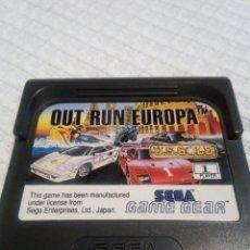 Videojuegos y Consolas: OUT RUN OUTRUN EUROPA GAME GEAR. Lote 115412063