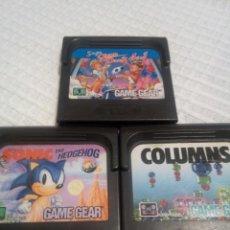 Videojuegos y Consolas: PACK JUEGOS GAME GEAR. Lote 115413031