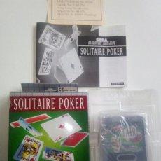 Videojuegos y Consolas: SOLITAIRE POKER GAME GEAR COMPLETO. Lote 115423491