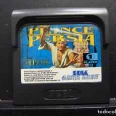 Videojuegos y Consolas: JUEGO PARA - SEGA - GAME GEAR - PRINCE OF PERSIA. Lote 115572159