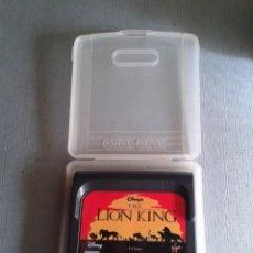 Videojuegos y Consolas: JUEGO SEGA GAME GEAR LION KING INCLUYE FUNDA TODO ORIGINAL PAL R7347. Lote 133818594