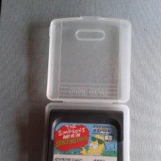 Videojuegos y Consolas: JUEGO SEGA GAME GEAR SIMPSONS BART SPACE MUTANTS INCLUYE FUNDA TODO ORIGINAL PAL R7361. Lote 133818606