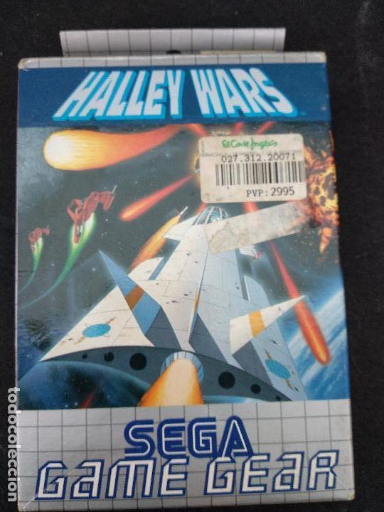 SEGA GAME GEAR HALLEY WARS CAJA E INSTRUCCIONES (Juguetes - Videojuegos y Consolas - Sega - GameGear)