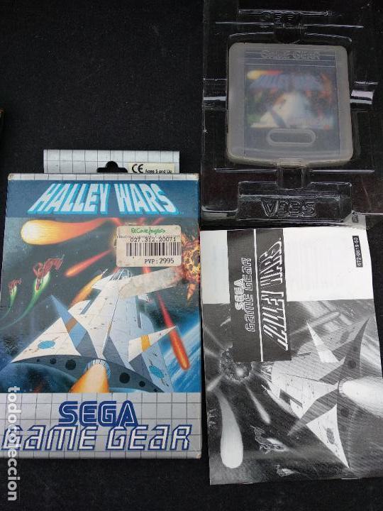 Videojuegos y Consolas: SEGA GAME GEAR HALLEY WARS caja e instrucciones - Foto 2 - 118709311