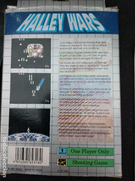 Videojuegos y Consolas: SEGA GAME GEAR HALLEY WARS caja e instrucciones - Foto 4 - 118709311