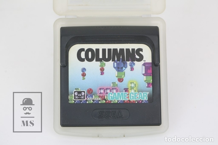 JUEGO SEGA - COLUMNS - GAME GEAR - CON FUNDA (Juguetes - Videojuegos y Consolas - Sega - GameGear)