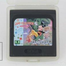 Videojuegos y Consolas: JUEGO SEGA - LAND OF ILLUSION / MICKEY MOUSE - GAME GEAR - CON FUNDA. Lote 119105810