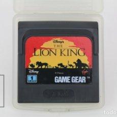 Videojuegos y Consolas: JUEGO SEGA - THE LION KING / EL REY LEÓN - GAME GEAR - CON FUNDA. Lote 119105832