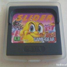 Videojuegos y Consolas: JUEGO DE GAME GEAR : SLIDER . MADE IN JAPAN.. Lote 120588671