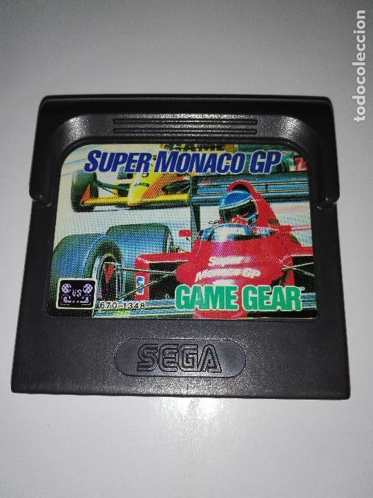 JUEGO SEGA GAMEGEAR GAME GEAR SUPER MONACO GP (Juguetes - Videojuegos y Consolas - Sega - GameGear)