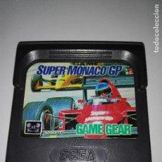 Videojuegos y Consolas: JUEGO SEGA GAMEGEAR GAME GEAR SUPER MONACO GP. Lote 120917419