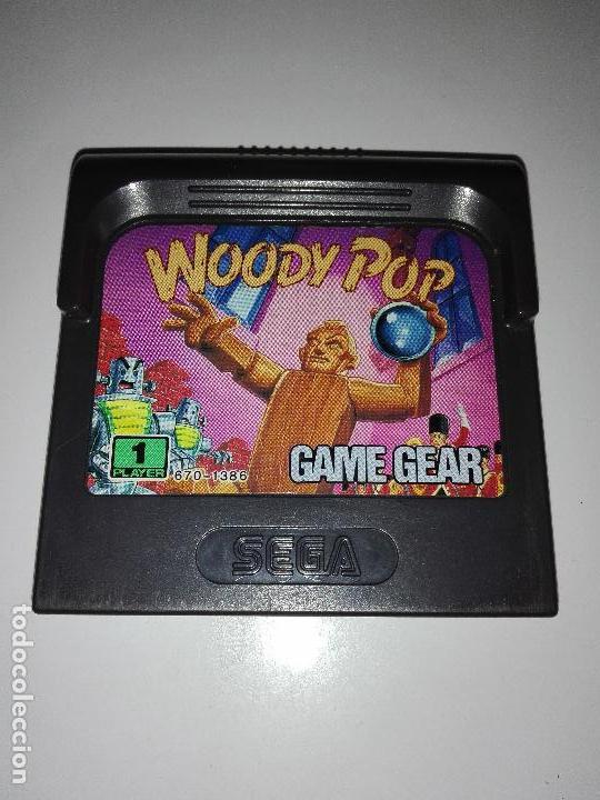 JUEGO SEGA GAMEGEAR GAME GEAR WOODY POP (Juguetes - Videojuegos y Consolas - Sega - GameGear)