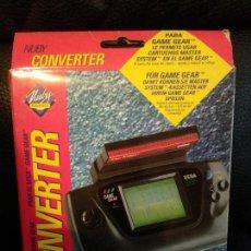 Videojuegos y Consolas: CONVERTER CONVERTIDOR DE SEGA GAME GEAR A MASTER SYSTEM NUEVO A ESTRENAR DE NUBY. Lote 121010163